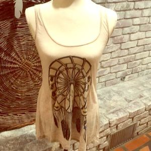 Lauren Moshi Tops - Stretchy boho tank